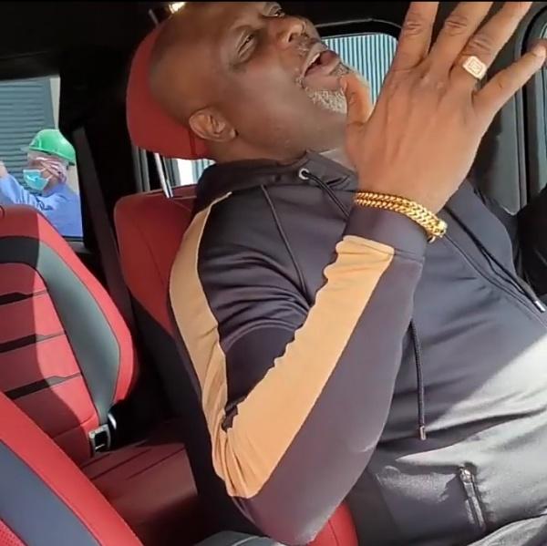 Watch As Dino Melaye Sings Joyfully While Cruising Around In Dubai In His Mercedes G-wagon SUV - autojosh