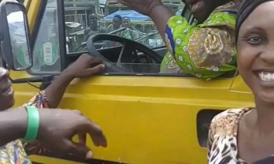 Elderly Woman Hijacked Lagos Commercial Bus 'Danfo' After Lagos Driver Refused To Reach Destination - autojosh