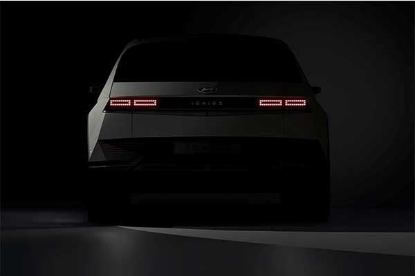 Teaser Images Of The Hyundai Ioniq 5 Unveiled Ahead Of February Debut