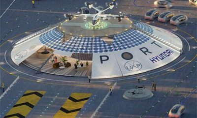 Hyundai-backed Firm Set To Launch World's First Electric Flying Car And Air Taxi Airport - autojosh