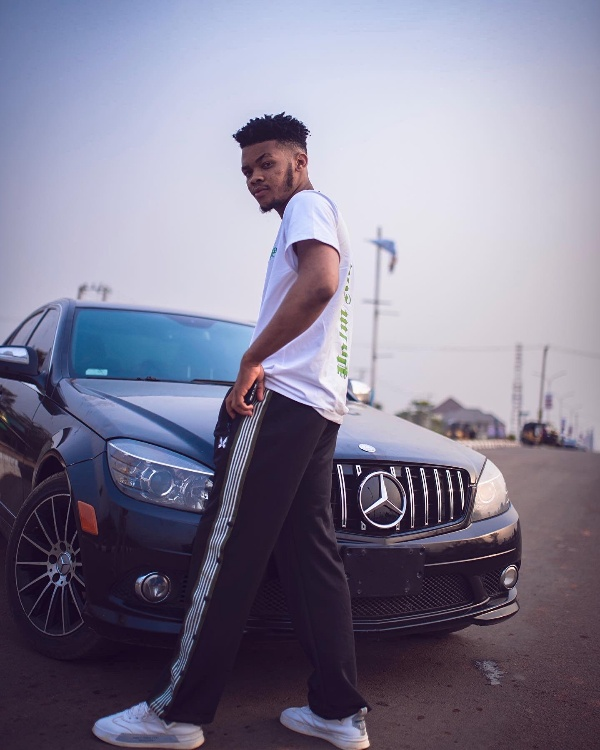Recording Artist KCKINGS Gift Himself A Mercedes C-Class To Celebrate His 22nd Birthday - autojosh