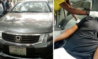 Lone Driver Found Dead In His Car Along Magodo Road In Lagos - autojosh