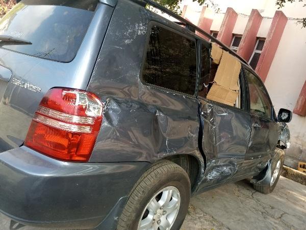 See How Nigerian Mechanic Brought Back A Smashed 2003 Toyota Highlander Back To Life - autojosh