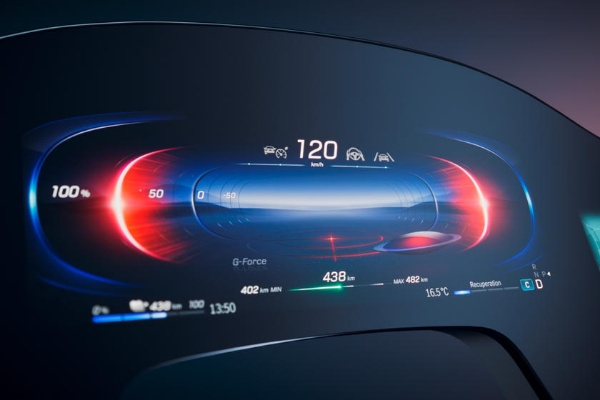 Mercedes Reveals Massive 56-Inch Hyperscreen That Will Debut In 2022 EQS All-electric Luxury Sedan - autojosh