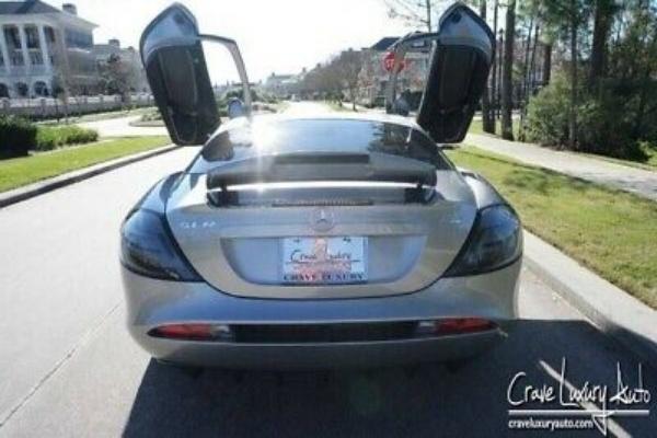 Michael Jordan's Mercedes SLR McLaren With Gullwing Doors Is Up For Sale - autojosh