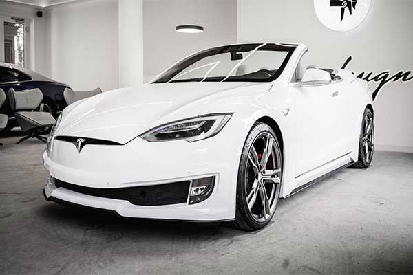 Fancy A Convertible Model S? Ares Design Has You Covered