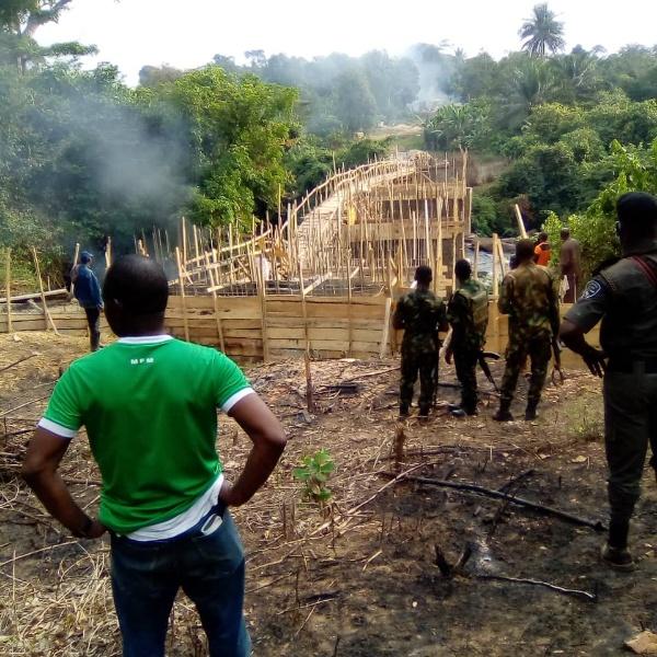 Ogun Orders Destruction Of N20m Illegal Bridge Built By Settlers - autojosh