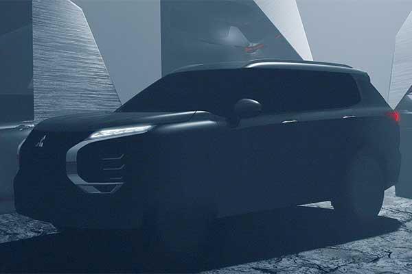 2021 Mitsubishi Outlander SUV Teased Ahead Of February Release Date