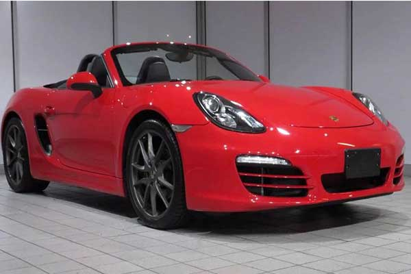 D'banj Gifts His Wife A Porsche Boxster For The Delivery Of Their Baby Girl.