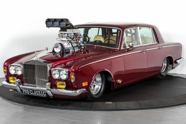 This Rolls-Royce, A Drag Racer With Protruding Engine, Is Up For Sale For $106,790 - autojosh