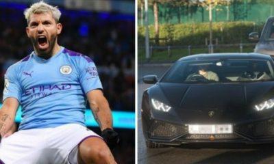 City Star Sergio Aguero Regrets Buying ₦188m Lamborghini, Claims Unused Car Now Has Cobwebs - autojosh