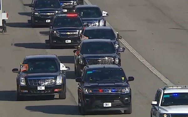 Seven 'Beast' Presidential Limousines Flanked By Dozens Of Armoured SUVs Took Part In Joe Biden's Inauguration - autojosh