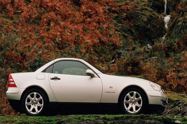 Throwback Thursday: Once Upon A 90s Mercedes-Benz SLK