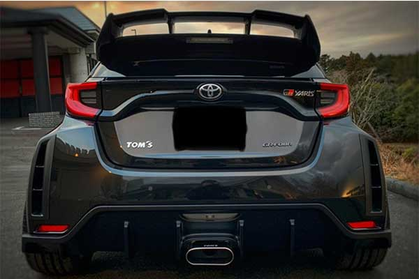 Tom's Racing Pimps The Toyota GR Yaris With Aggressive Bodykits