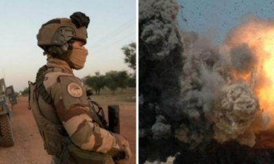 Two French Soldiers Killed In Mali After Their Vehicle Hit Improvised Explosive Device IED - autojosh