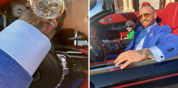 UFC Star Conor McGregor Buys Rolls-Royce Dawn And Two Watches Worth $4m - autojosh