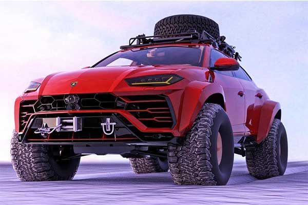 One Off Lamborghini Urus By Abimelec Design Is An Off-Road Beast