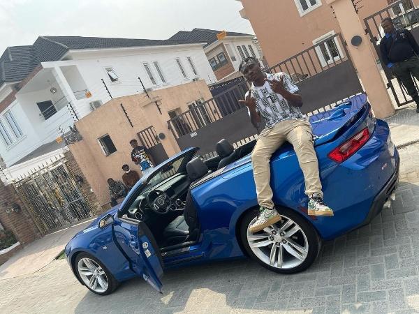 Music Star Zlatan Ibile Buys 2017 Chevrolet Camaro RS - autojosh