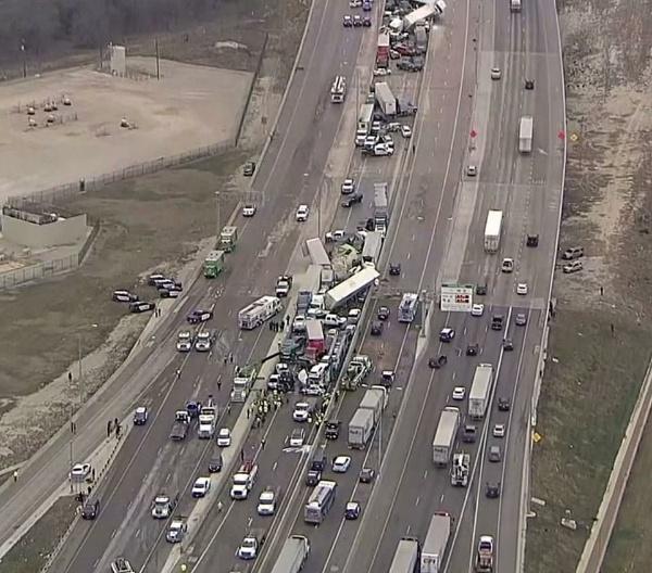 133-car Pileup On Texas Highway Caused By Slippery Road Kills 5, Injures 65 - autojosh