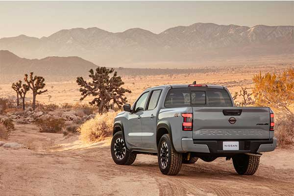 Nissan Starts 2021 With The Latest 2022 Frontier Pickup Truck