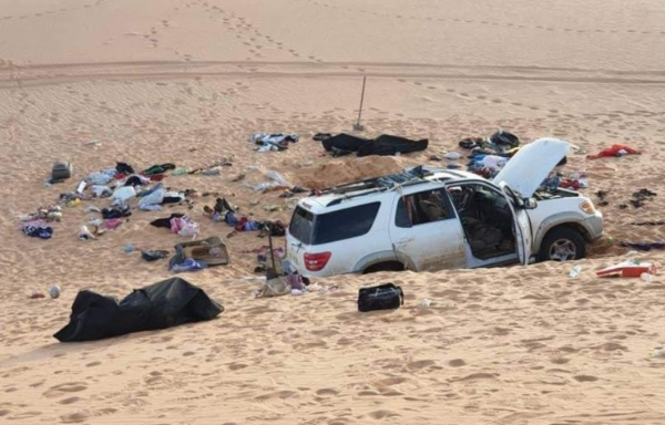 8 Members Of Sudanese Family Found Dead In Their Car After Losing Way In Libyan Desert - autojosh