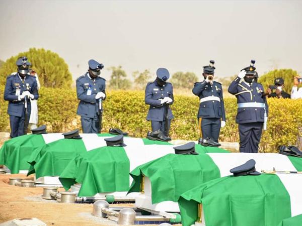 Airforce Plane Crash Victims