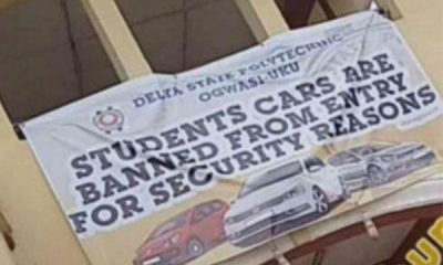 Delta State Polytechnic Bans Students From Driving Cars Within The School Premises, Here Is The Reason Why - autojosh