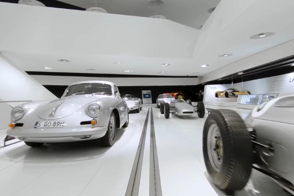 Aerial Drone Tour Showing The Over 700 Cars Inside Porsche Museum - autojosh