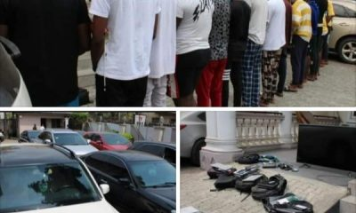 EFCC Arrests Doctor, 17 Other Alleged Yahoo Boy Suspects In Imo, Recovers 3 Lexus Cars, 2 Toyota Venza And Mercedes - autojosh
