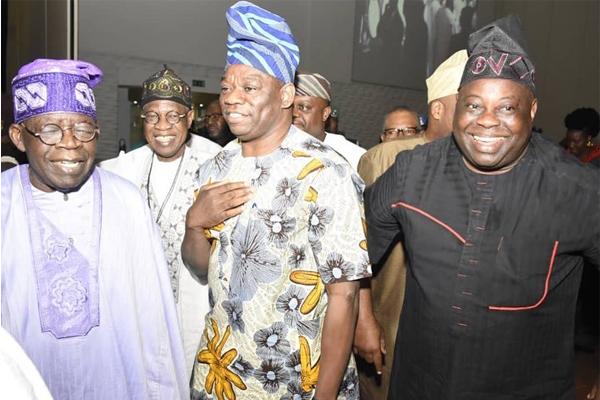 Kola Abiola and Dele Momodu