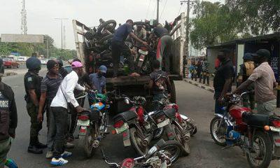Lagos Taskforce Confiscates 80 Okadas In Yaba - autojosh