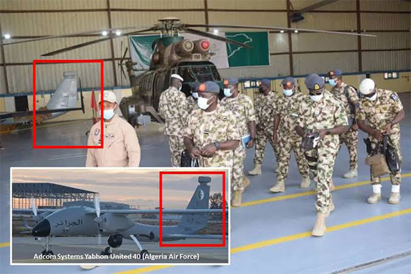 Nigerian Airforce Takes Delivery Of New Sophisticated Drones From The UAE (PHOTOS)