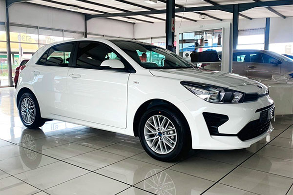 Young South African Man Shows Off His Brand New Kia Rio - autojosh