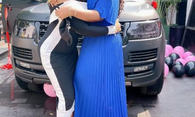 Actress Mercy Aigbe Gets Range Rover HSE Worth ₦30m As Birthday Gift - autojosh