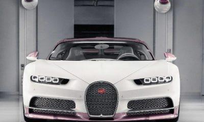 "Man Gifts Wife $3.2m One-Off Custom ""Alice"" Bugatti Chiron Sport For Valentine's Day - autojosh"