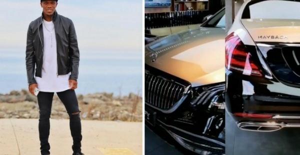 Football Star Anthony Nwakaeme Flaunts Mercedes-Maybach S650 Sedan Worth N77m - autojosh