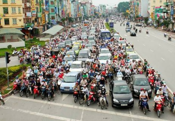 Here Are Countries Where Cars Can Hardly Move Due To Motorcycle Traffic - autojosh