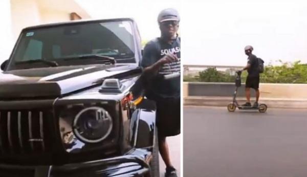 Hip TV Boss, Ayo Animashaun, Beats Lagos Traffic From Ikeja To VI With Electric Scooter - autojosh