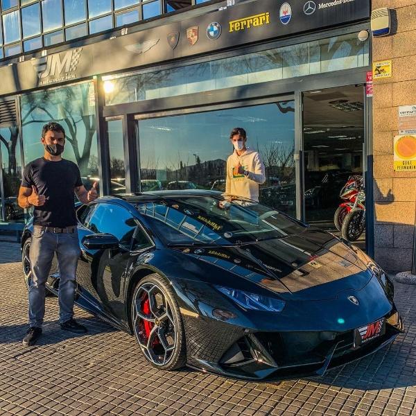 Barcelona Star Trincao Buys £240k Lamborghini Huracan To Celebrate His Winning Goal Vs Real Betis - autojosh