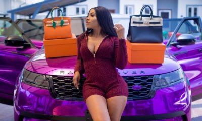 BBNaija Mercy Lambo's Range Rover Velar Wrapped By Khaz Customs - autojosh