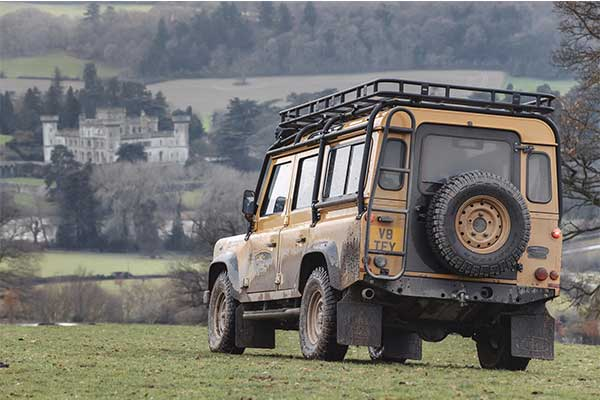 Classic Defender Revived By Land Rover For A Limited Run Of 25 Units