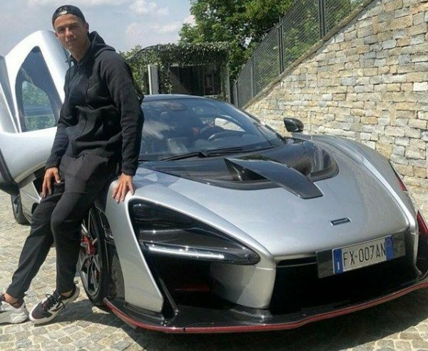 Cristiano Ronaldo, Aubameyang And Eto'o Boasts Amazing Rides, But Which Footballer Owns The Most Expensive Car Collection - autojosh