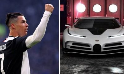 Cristiano Ronaldo's Upcoming $9m Bugatti Centodieci Evolves Into Prototype, Deliveries Starts in 2022 - autojosh