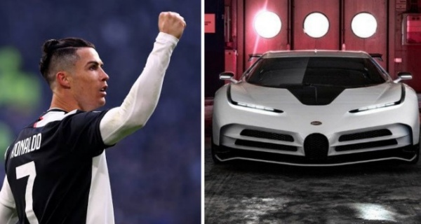 Cristiano Ronaldo's Upcoming $9m Bugatti Centodieci Evolves Into Prototype, Deliveries Starts in 2022 - autojosh