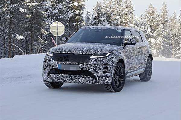 Range Rover Evoque Goes Big As Long-Wheelbase Version Spied In Europe