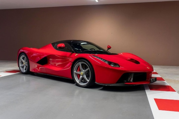 F1 Champ Sebastian Vettel Is Selling 8 Of His Cars, Including LaFerrari, F50 And Mercedes SLS AMG Gullwing - autojosh