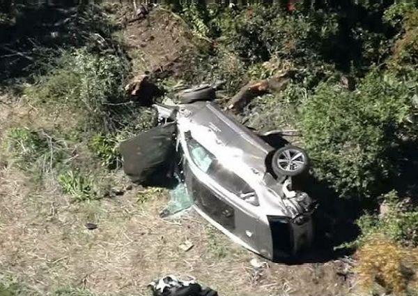 Golf Legend Tiger Woods Injured In Serious Rollover Car Crash In California - autojosh