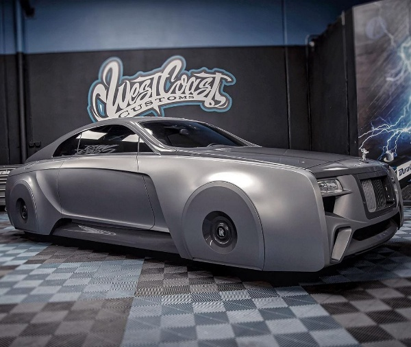 See The Making Of Justin Bieber's Floating Rolls-Royce With Hidden Wheels - autojosh