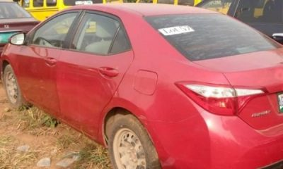 Lagos Auction Seized And Forfeited Toyota Corolla, With Market Value Of N3.2m, For N6.5m - autojosh