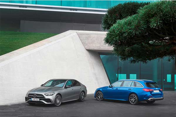 2022 Mercedes-Benz C-Class Has Been Unveiled To The World